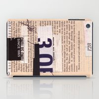 BOOKMARKS SERIES pg 334 iPad Case