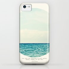 Salt Water Cure iPhone 5c Slim Case