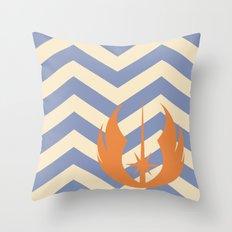 Ahsoka Tano Chevrons Throw Pillow