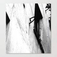 Window To The Courtyard Canvas Print