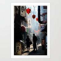 An Afternoon In Kobe, Ja… Art Print