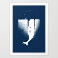Frozen Leviathan Art Print