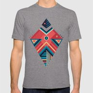 Arrow 06 Mens Fitted Tee Tri-Grey SMALL