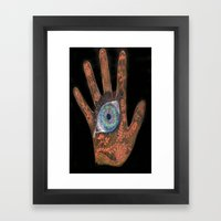 It's in our Hands Framed Art Print