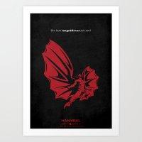 Hannibal - ...And The Wo… Art Print