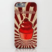 iPhone & iPod Case featuring Life is Uncertain by Happi Anarky