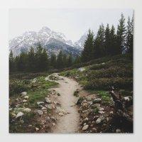 Teton Trail Canvas Print