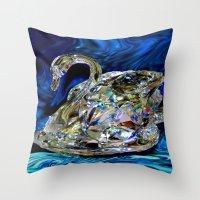 Swang Throw Pillow