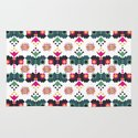 Bulgarian embroidery pattern 02 Rug