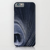 iPhone & iPod Case featuring Blue Peacock by Bel Menpes