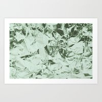Aluminum Forest Art Print