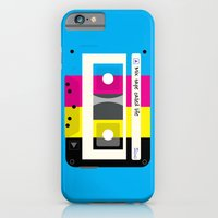 CMYK Mix tape called life iPhone 6 Slim Case