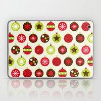 Christmas Baubles Laptop & iPad Skin