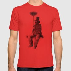 The Chimney Sweep Mens Fitted Tee Red SMALL