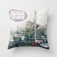 HOME SWEET HOME SERIES Throw Pillow