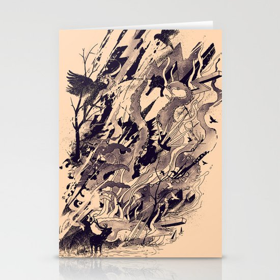 Chaos Stationery Card