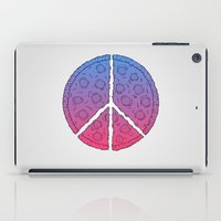 Peace & Pizza iPad Case