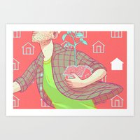 Taking Home Somewhere Ne… Art Print