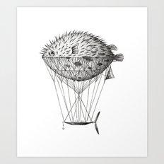 Airfish Express Art Print