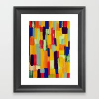Abstract #33 Framed Art Print
