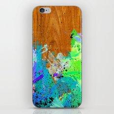 Watercolour Arbutus Wood iPhone & iPod Skin
