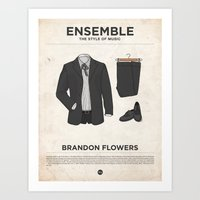 Ensemble - Brandon Flowe… Art Print