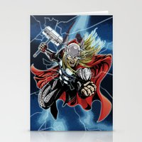 Almighty Thor  Stationery Cards
