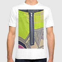 Fly Case / Fly Skin / Fly Print Mens Fitted Tee White SMALL
