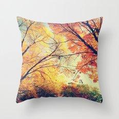 Autumn Embrace Throw Pillow