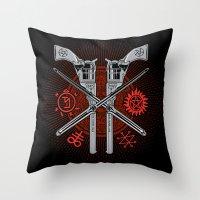 Perdition (Demon Hunter'… Throw Pillow