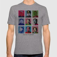 Dictart Mens Fitted Tee Athletic Grey SMALL