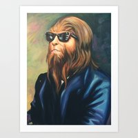 Sir Scott Art Print