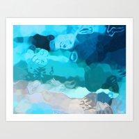 Fluidity #1 Art Print