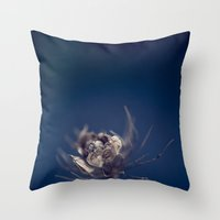 Before the Wind Blew Throw Pillow