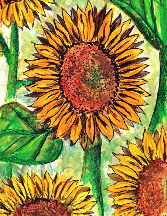 Keep Up Buttercup Art Print