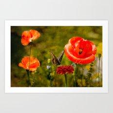 Summer Garden Art Print