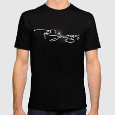 PSimages Merch Black SMALL Mens Fitted Tee