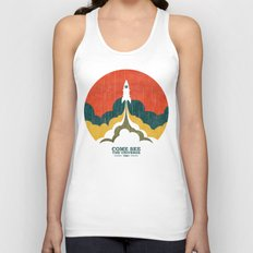 Come See The Universe Unisex Tank Top