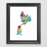 Sing for... Framed Art Print