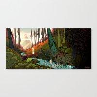 Watership Down (II) Crop Canvas Print