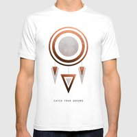 Catch Your Dreams / Copper Version Mens Fitted Tee White SMALL