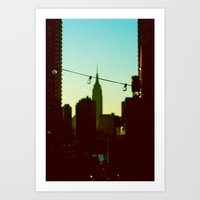 A View Of Bliss Art Print