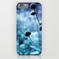 iPhone & iPod Case featuring Solitary Moon by Akin Khan