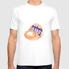 Irn-Bru can SMALL White Mens Fitted Tee