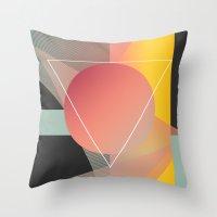 Objectum Throw Pillow