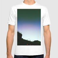 Up Mens Fitted Tee White SMALL