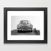 James Bond - Aston Marti… Framed Art Print