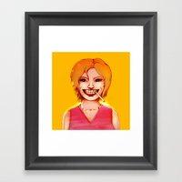 Smiley Framed Art Print