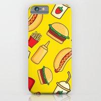 iPhone Cases featuring tasty food by los_ojos_pardos