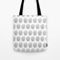 Watercolour polkadot grey Tote Bag